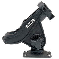 Scotty 281 Bait Caster/Spinning Rod Holder w/244 Flush Deck Mount - Black
