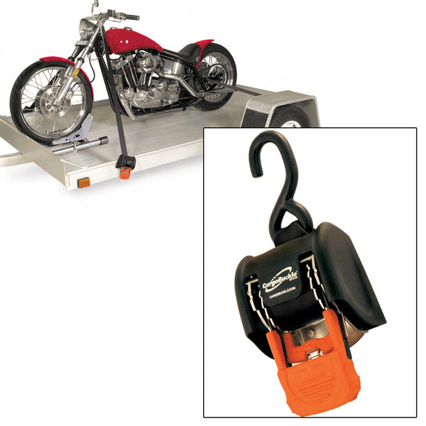 "CargoBuckle G3 Retractable Ratchet Tie-Down - 2"" x 72"" - Pair"