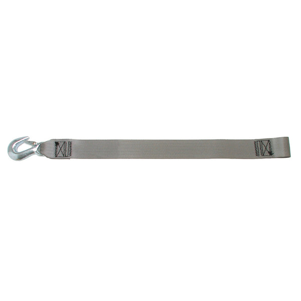 "BoatBuckle Winch Strap w/Loop End 2"" x 20'"