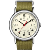 Timex Weekender Slip-Thru Watch - Olive Green