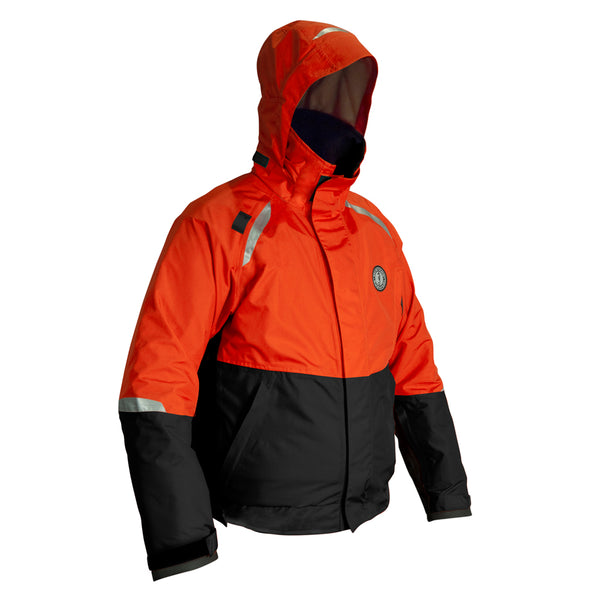 Mustang Catalyst Bomber Jacket - Small - Orange/Black