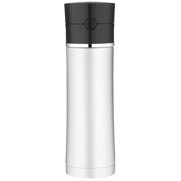 Thermos Sipp™ Vacuum Insulated Hydration Bottle - 18 oz. - Stainless Steel/Black