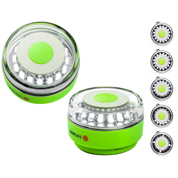 Navisafe Portable Navilight 360° 2NM Rescue - Glow In The Dark - Green