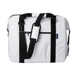 NorChill BoatBag 24 Can Marine Cooler Bag - White Tarpaulin