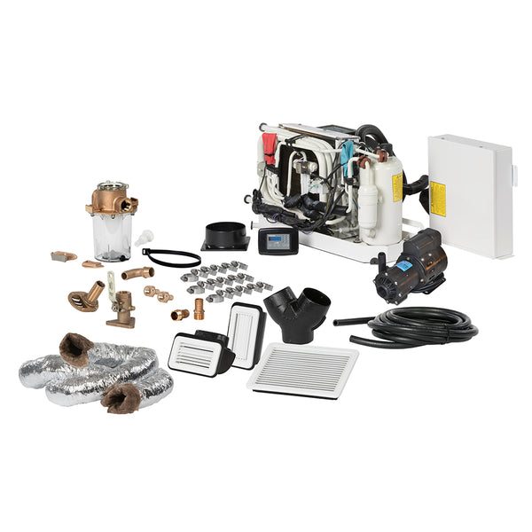Webasto FCF Platinum Series Air Conditioner Complete System Kit w/KoolAir PM1000 Pump & Ducting - 16,000 BTU/h - 115V