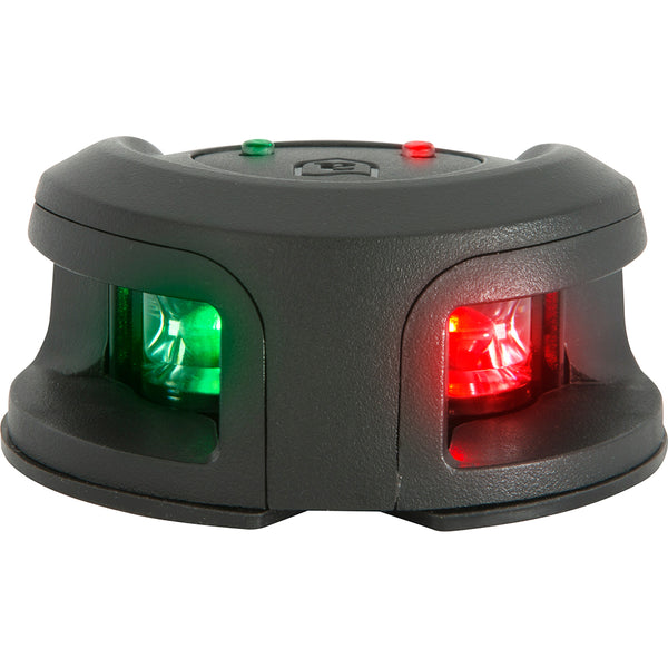 Attwood LightArmor Bow Mount Navigation Light - Composite Black - Bi-Color - 2NM