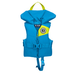 Mustang Lil' Legends 100 Child Foam PFD - 30-50lbs - Azure Blue