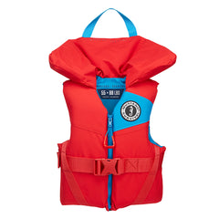 Mustang Lil' Legends 100 Youth Foam PFD - 50-90lbs - Imperial Red