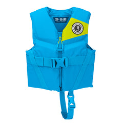 Mustang Rev Child Foam Vest - 30-50lbs - Azure Blue