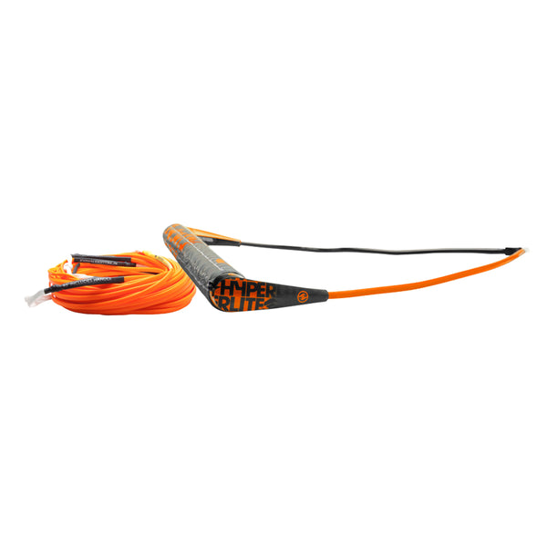 Hyperlite Team Handle w/75' Silicone X-Line Combo - Orange