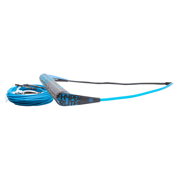 Hyperlite Team Handle w/75' Silicone X-Line Combo - Blue