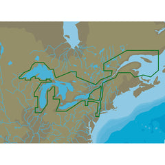 C-MAP 4D NA-D061 Great Lakes and St Lawrence Seaway -microSD/SD