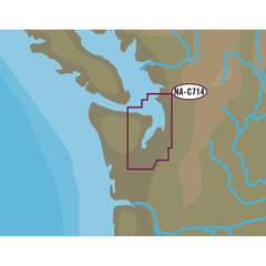 C-MAP NT+ NA-C714 Puget Sound and Straits of Juan De Fuca - C-Card Format