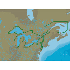 C-MAP NA-Y061 Great Lakes and St Lawrence Seaway - microSD/SD