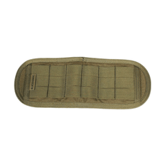 Reversible belt panels allow you to wear PALS/Molle compatible pouches with any belt  Various sizes allow for different lengths  Reversible design supports vertical or horizontal mount