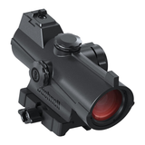 Multicoated optics  8 brightness settings with an off setting between each  Compatible with Glock dovetail sights