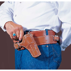 Doc Holliday Cross Draw Western Belt Holster