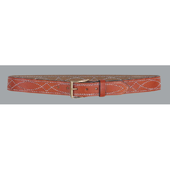 1 1/2  Fancy Stitch Lined Belt