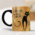 Crazy Cat Mom Coffee Mug