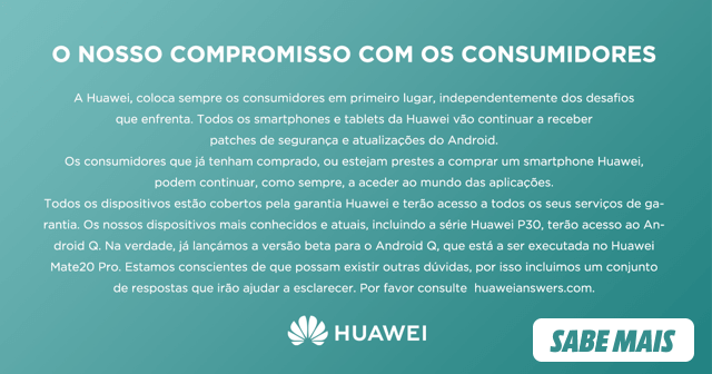 Compromisso Huawei