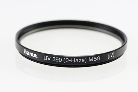 Filtro UV 58 mm Hama C70058 390 O-HAZE