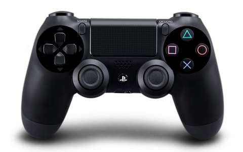 Comando PS4 Sony DualShock 4 Preto + Fortnite