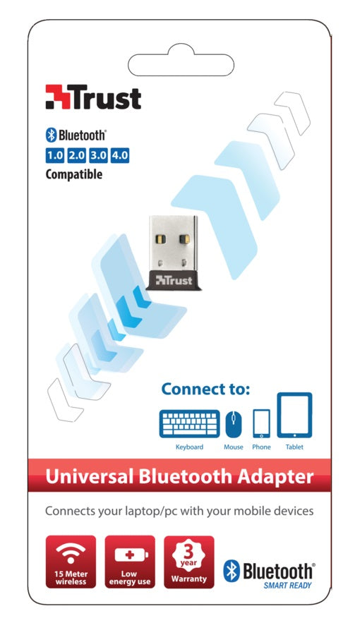 Adaptador Bluetooth USB 4.0 Trust