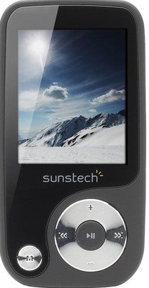Leitor MP4 Sunstech Thorn 4GB Preto
