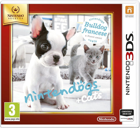 3DS Nintendogs Bulldog Selects