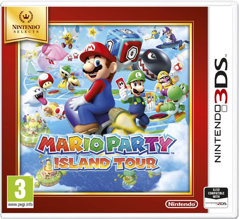 3DS Mario Party Island Tou Selects