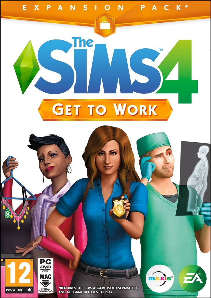 PC THE SIMS 4 GET TO WORK EP1 Image