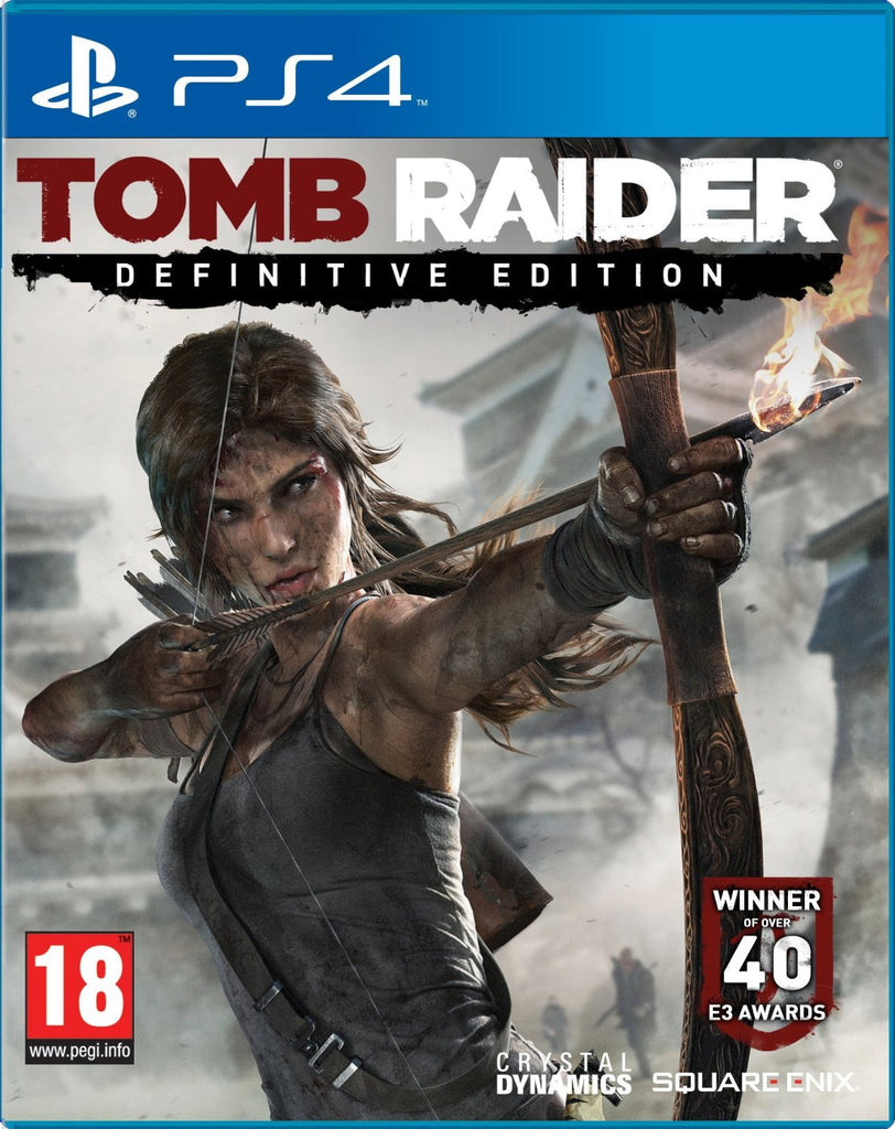 PS4 TOMB RAIDER - DEFINITIVE ED Image