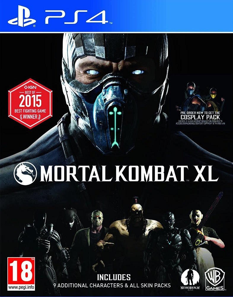 PS4 MORTAL KOMBAT XL Image