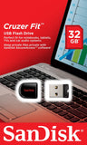 Sandisk Pen USB Cruzer Fit 32GB USB 2.0