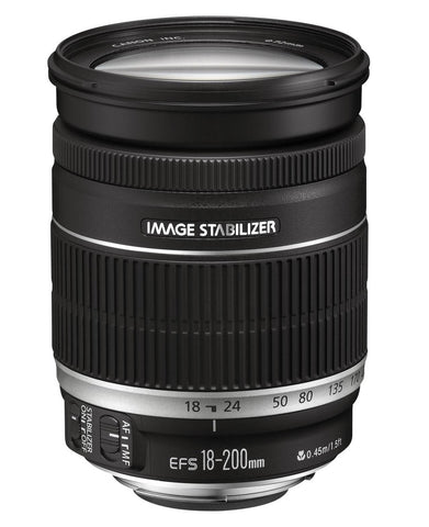 Canon 18-200mm IS f/3.5–5.6 - Objetiva