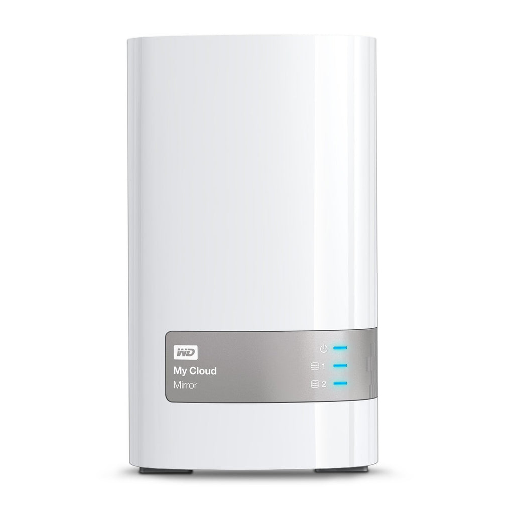 Disco de Rede Western Digital My Cloud Mirror 3TB USB / LAN RJ45