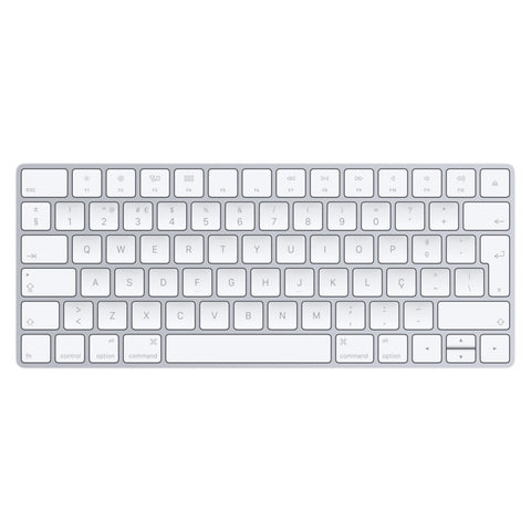 Teclado Keyboard Apple Magic Prateado