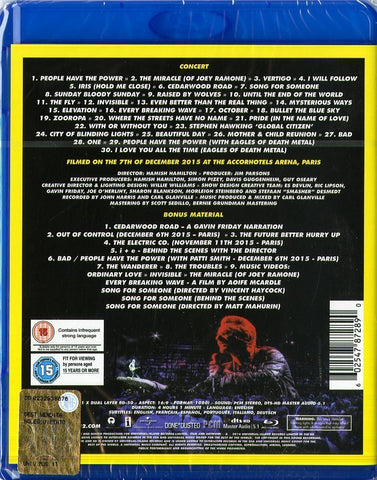 U2 INNOCENCE + EXPERIENCE-LIVE IN PARIS BD