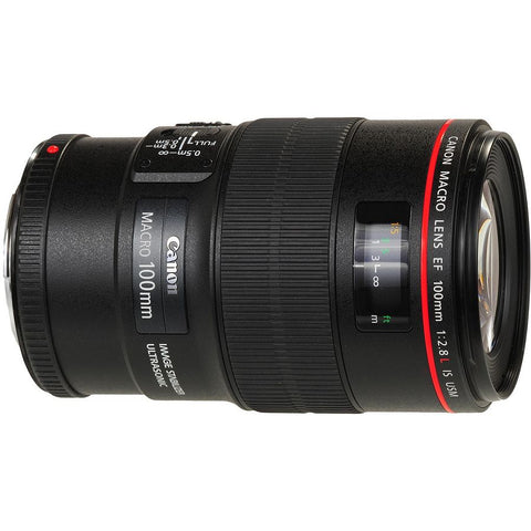 Canon EF 100mm L Macro IS USM - Objetiva