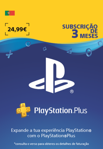 Cartao Playstation Plus 90 Dias