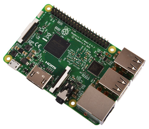 Raspberry Leitor Multimédia Wi-fi Bluetooth PI3 1GB