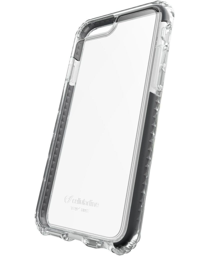 Capa Tetra Force Shock-Tech iPhone 7 Plus Preto / Transparente Image