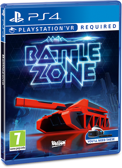 PS4 BATTLEZONE VR Image