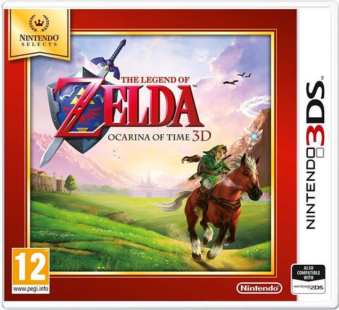 Nintendo 3DS ZELDA OCARINA OF TIME SELECTS