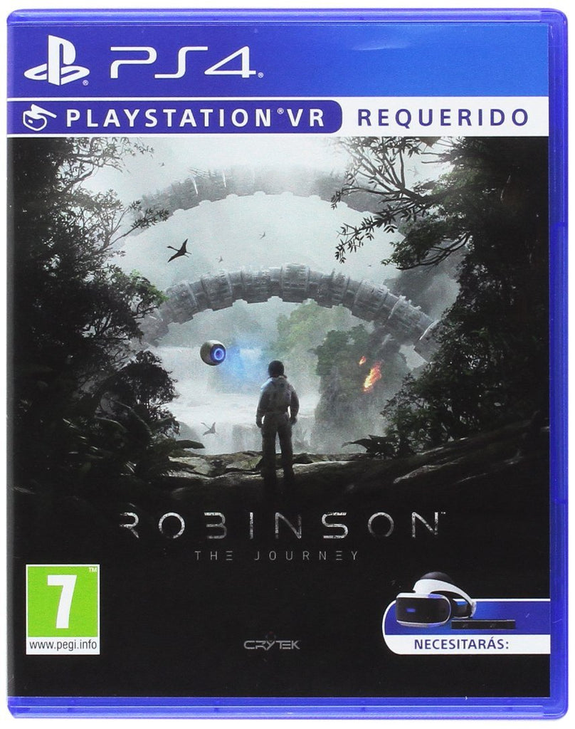 PS4 ROBINSON THE JOURNEY VR Image