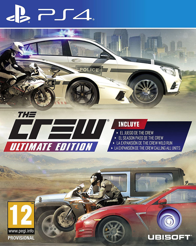 PS4 THE CREW ULTIMATE EDITION Image
