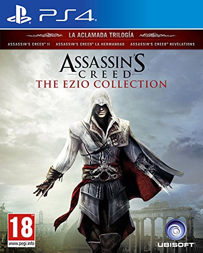 PS4 ASSASSINS CREED EZIO COLLECTION 3 JOGOS Image