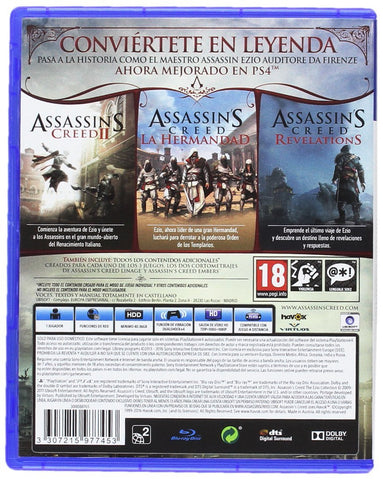 PS4 Assassins Creed Ezio Collection 3 Jogos