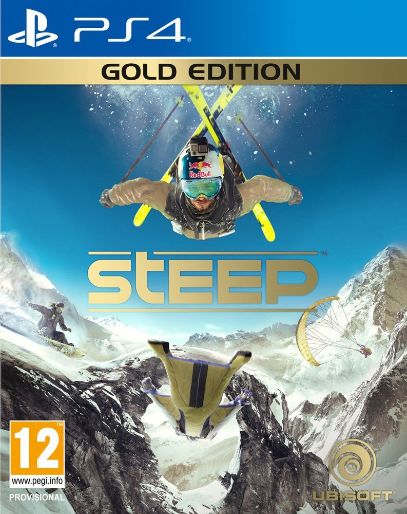 PS4 STEEP GOLD Image