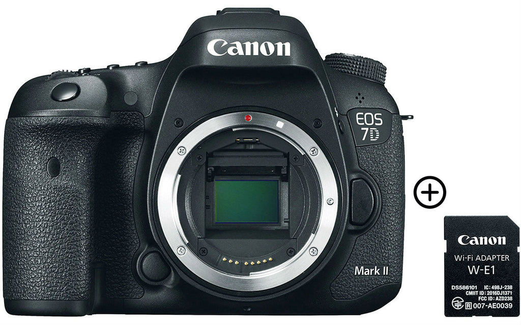 EOS 7D Mark II + Adaptador Wifi W-E1 Image
